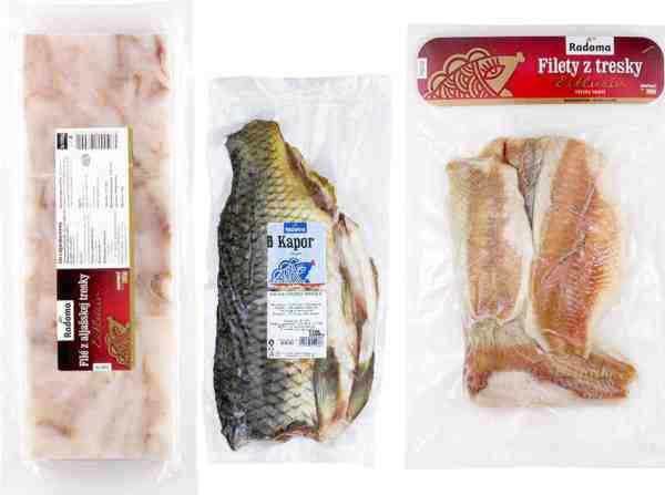 Vyhrajte balíček kvalitných mrazených rýb Radoma
