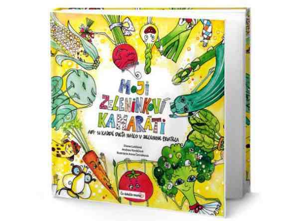 Vyhrajte knihu Moji zeleninkoví kamaráti
