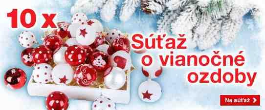 Vyhrajte ručne vyrobené vianočné ozdoby!