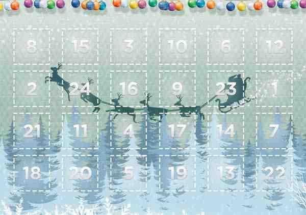 Adventný kalendár Jysk, zbierajte snehové vločky a vyhrajte
