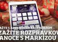 Súťažte s Adventným kalendárom a zažite rozprávkové Vianoce s Markízou