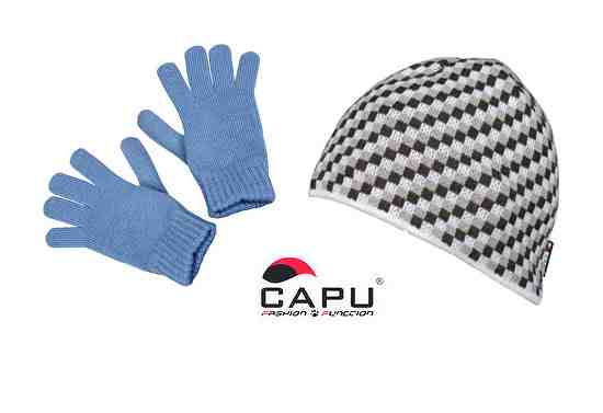 Súťaž o zimné čiapku a rukavice od značky CAPU