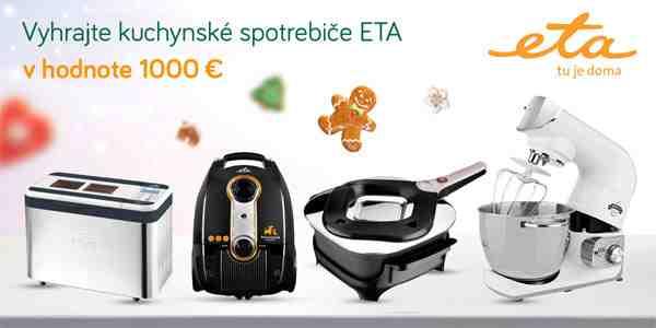 Vyhrajte ETA pomocníkov v hodnote 1000 €