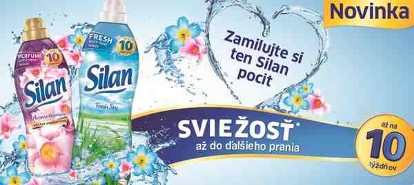 Vyhrajte 10 produktových balíčkov aviváže Silan a praktický uterák!