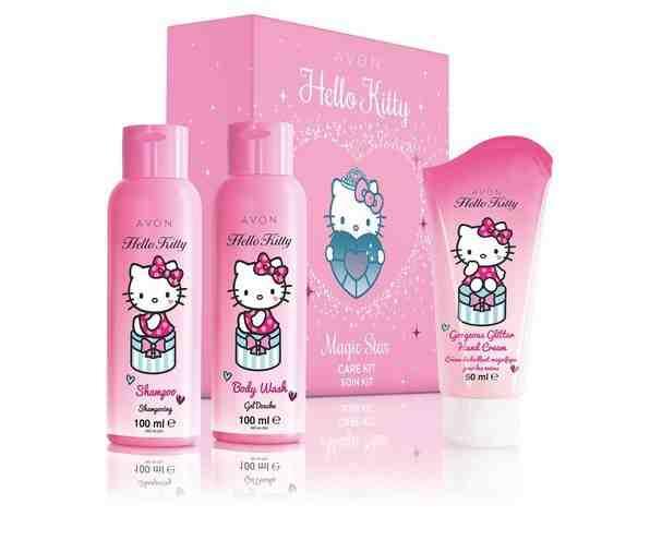 Darčekový set Hello Kitty pre malé princezničky
