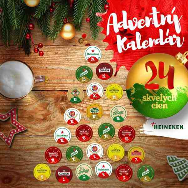 Heineken adventný kalendár