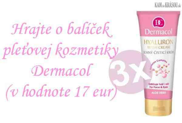 Hrajte o 3 balíčky pleťovej kozmetiky Dermacol