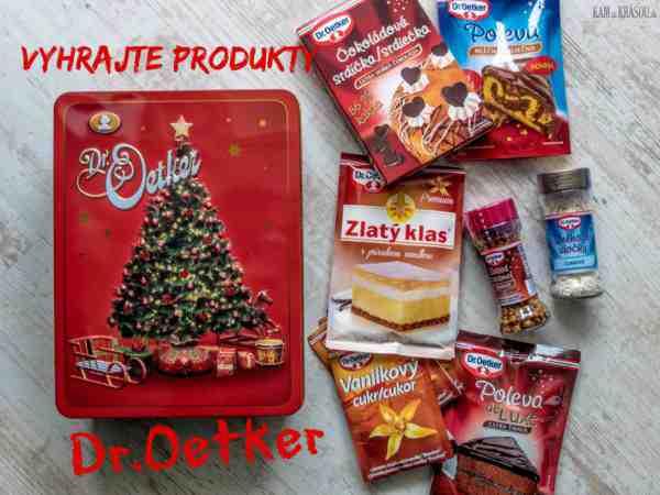 Hrajte o balíčky produktov a pomocníkov na pečenie Dr.Oetker