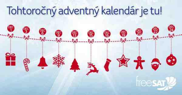 Nalaďte sa na Vianoce s freeSAT-om