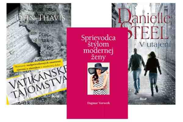 Súťaž o knihy z vydavateľstva Slovart a Ikar