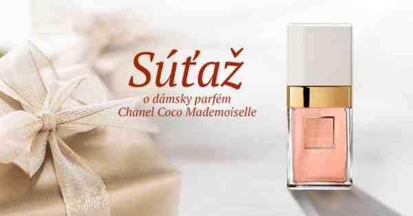 Súťaž o luxusný dámsky parfém Chanel Coco Mademoiselle
