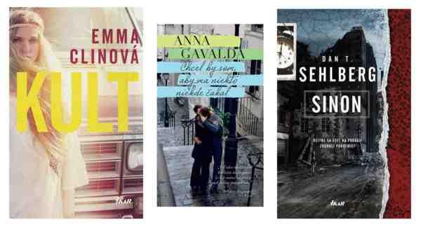 Súťažte o balíček s troma knihami z vydavateľstva Ikar