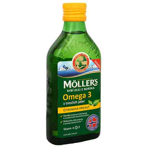 Soutěž o 2x Möller´s rybí olej Omega 3 z tresčích jater