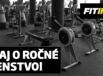 Vyhraj ročné členstvo do siete fitnes štúdií Fitinn na Slovensku