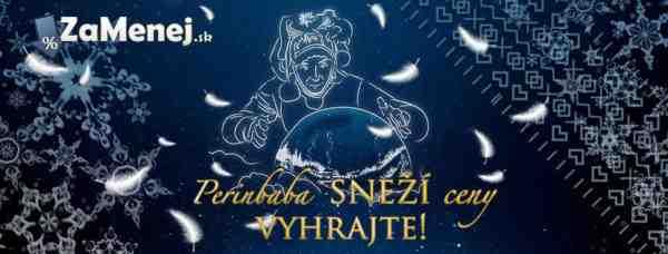 Veľká vianočná súťaž Perinbaba sneží ceny