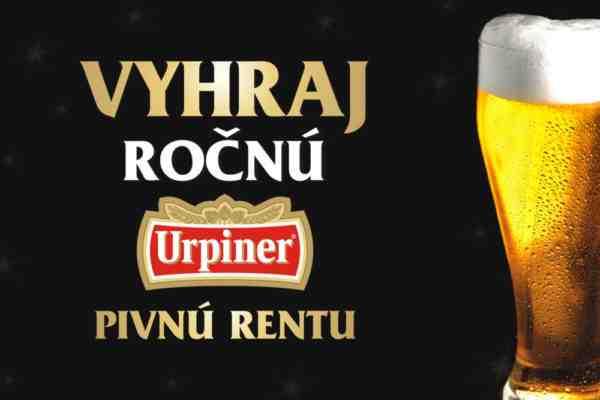 Vyhraj 12 kartónov piva URPINER od spoločnosti Banskobystrický pivovar