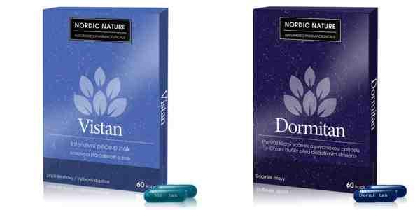 Vyhrajte balíček výživových doplnkov Vistan a Dormitan