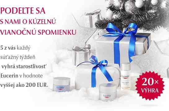 Vyhrajte starostlivost proti vráskam Eucerin v hodnote viac ako 200€