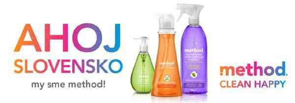 Hrajte o 10 balíčkov s čistiacimi produktami zn. Method!