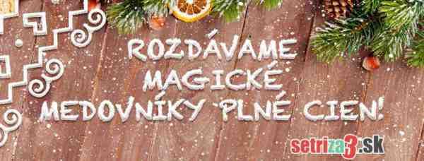 Veľká vianočná súťaž SetriZa3.sk
