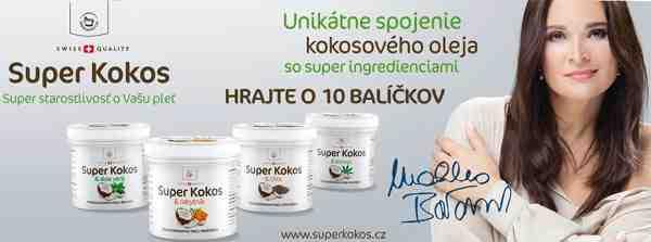 Hrajte o 10 balíčkov kokosového oleja so super ingredienciami Super Kokos