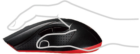 Myš ASUS Cerberus black gaming