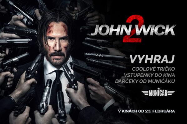 John Wick 2 – Vyhraj lístky do kina a filmové darčeky!