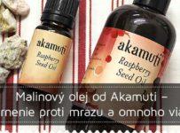 Súťaž o malinový olej značky Akamuti