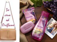 Súťaž o tri kabelky a kozmetiku od Oriflame