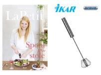 Súťažte o kuchársku knihu LaPetit - Spolu pri stole (Ikar) a antikorovú šľahaciu metličku
