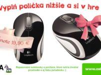 Vyhraj Valentínsku myšku od Zebričky