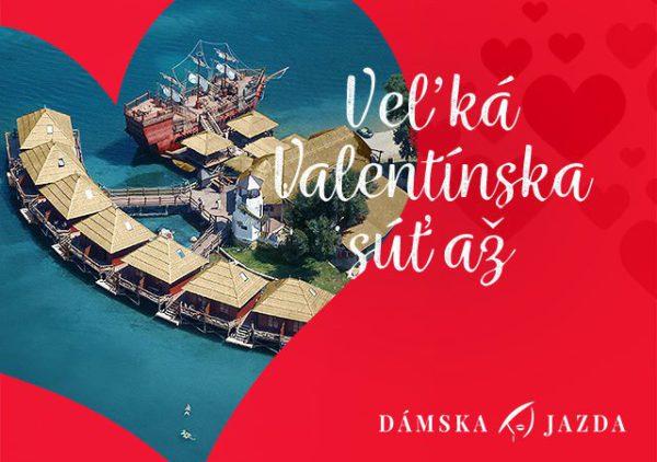 Veľká valentínska súťaž s Dámskou jazdou