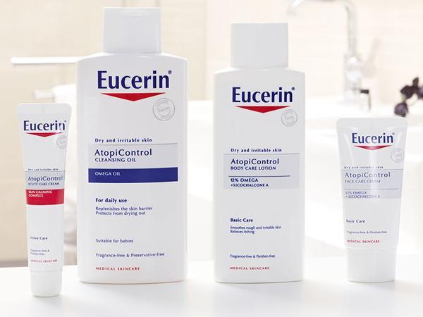 Vyhrajte balíček Eucerin AtopiControl v hodnote 70€