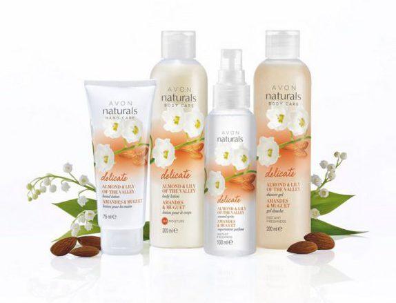 Pocíťte jar na vlastnej koži s novou líniou Naturals od AVONu