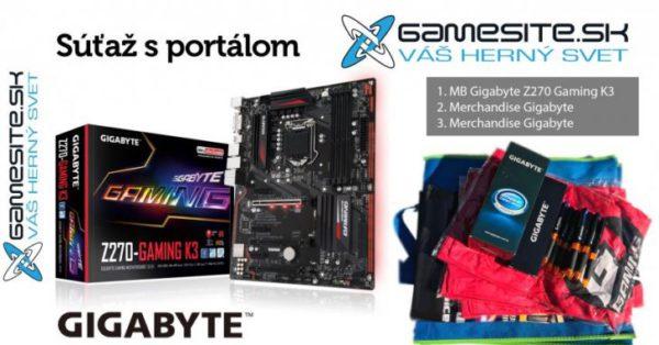 Súťaž o Gigabyte Z270 Gaming K3