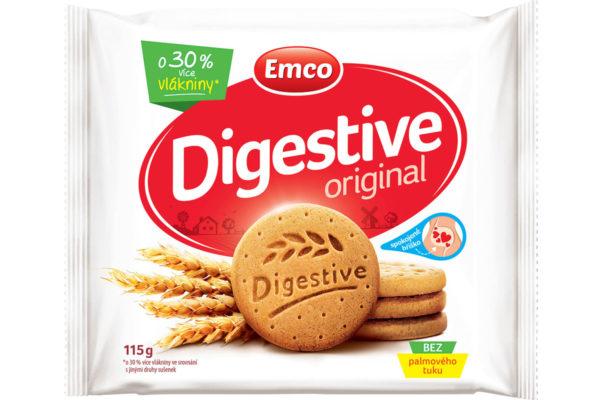 Súťažte o balíček so sušienkami Emco Digestive a mixom ďalších Emco produktov