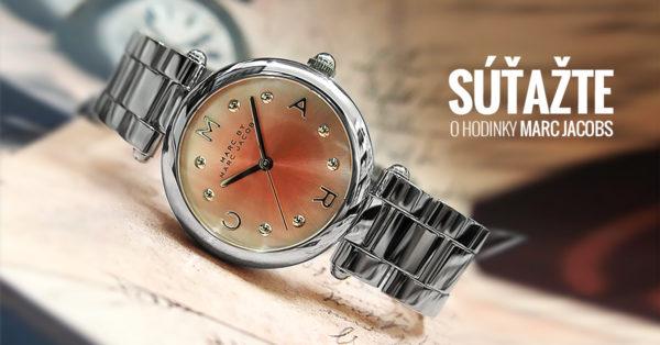 Súťažte o dámske hodinky z novej kolekcie Marc Jacobs