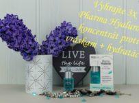 Vyhrajte 3x Pharma Hyaluron Koncentrát (sérum) proti vráskam + hydratácia