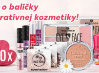 Vyhrajte balíček dekoratívnej kozmetiky značky Essence