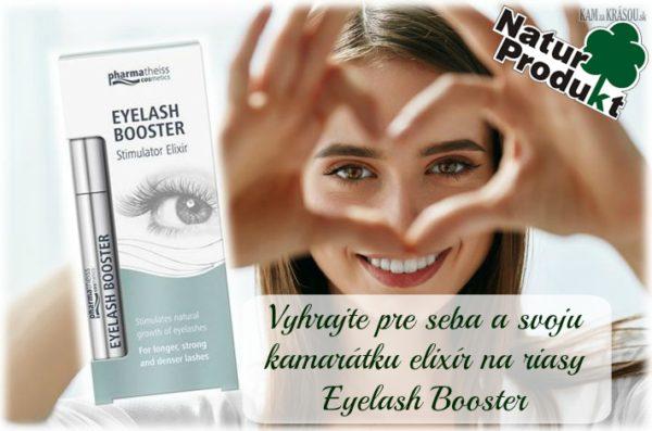 Vyhrajte pre seba a svoju kamarátku sérum na riasy Eyelash Booster