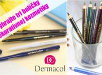 Vyhrajte tri balíčky dekoratívnej kozmetiky Dermacol