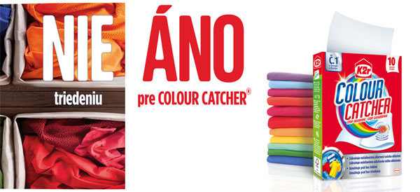 Súťaž o 10 produktových balíčkov s obrúskami Colour Ctcher