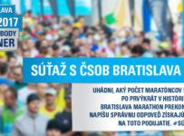 Súťaž o voucher na ČSOB marathon
