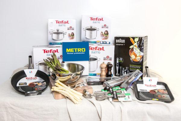 Hraj o výbavu do kuchyne v hodnote 960€ a darčekový kôš
