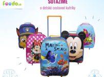 Súťažíme o cestovné kufríky od feedo.sk
