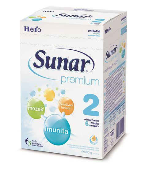 Súťaž o 2 balenia dojčenskej výživy Sunar premium
