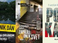 Súťaž o 3 slovenské detektívky z vydavateľstva Ikar