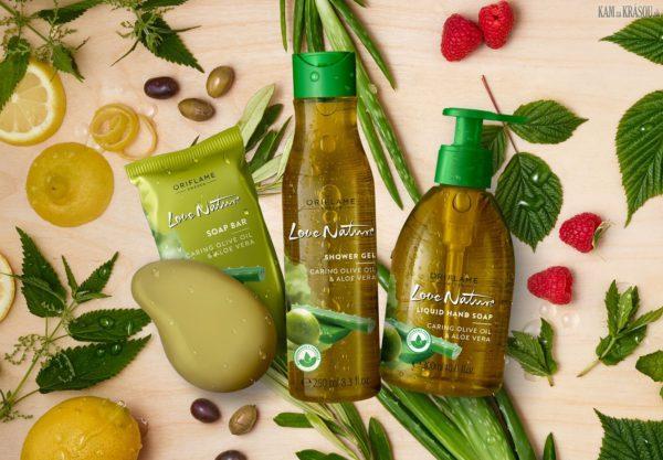 Súťaž o tri balíčky prírodnej telovej kozmetiky od Oriflame