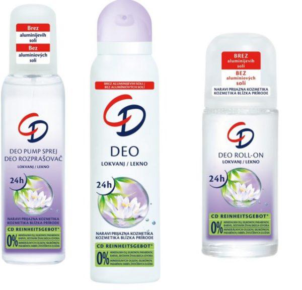 Súťažte o 3 balíčky dezodorantov od CD kozmetiky