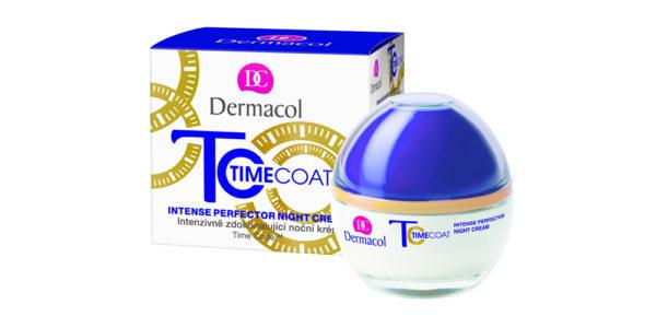 Súťažte o nočný krém z radu Time Coat od značky Dermacol